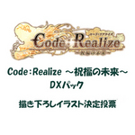 Code:Realize 〜祝福の未来〜 DXパック 描き下ろしイラスト決定投票