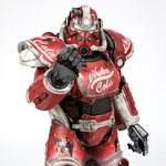 Fallout 4 T-51 Power Armor - Nuka Cola Armor Pack