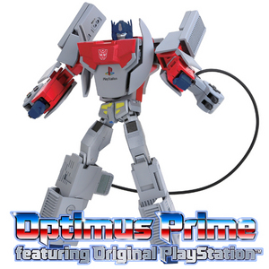 Optimus Prime featuring Original PlayStation(TM)