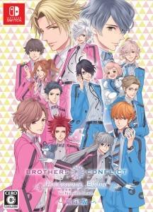 BROTHERS CONFLICT Precious Baby for Nintendo Switch 限定版ebtenDXパック「三つ子なかよしセット」缶バッジ15種付き
