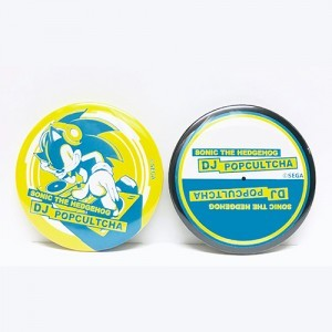 「SONIC THE HEDGEHOG DJ POPCULTCHA」缶バッジ2コセット