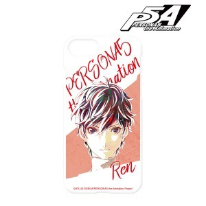 PERSONA5 the Animation 雨宮蓮 Ani-Art iPhoneケース (対象機種:iPhone 7/8)