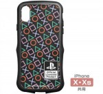 "TPUバンパー iPhoneケース [X・Xs共用] ""PlayStation""Shapes"