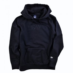 『FAV gaming』TRIMMED EMBROIDERY HOODIE M